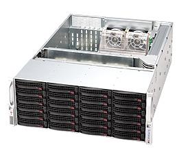 LifeCom Storage 4U 24-bay X9 SC846 E5-v2 10G iSCSI