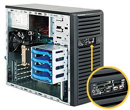 LifeCom Super CSE-731D-300B E3-1200 / E3-1220v2
