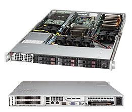 SuperServer Intel® Xeon® processor E5-2600