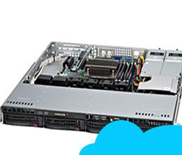 Supermicro Cloud - Profesional Package 02(10VM, 2.5TB) E5 Series S043